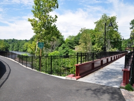 Naugatuck River Greenway, Naugatuck, CT. (courtesy of Naugatuck Valley Council of Governments)