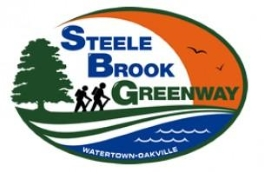 Steele Brook Greenway LOGO, Watertown and Oakville, CT